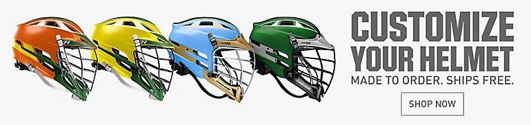 Customize Your Lacrosse Helmet