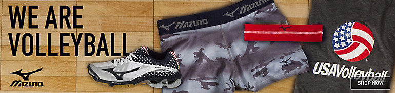 Mizuno Volleyball Shoes, Apparel and Gear