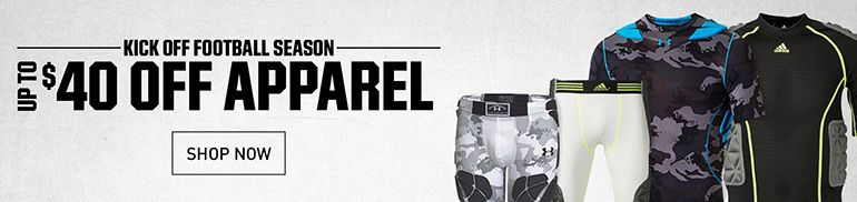 Save on Integrated Protection and Football Apparel
