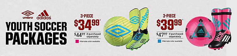 Youth Soccer Packages