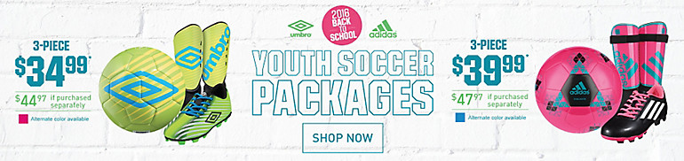 Youth Soccer Packages BTS