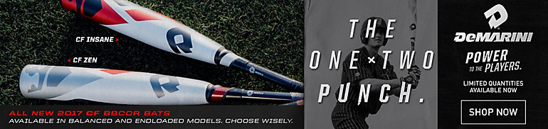 DeMarini CF Zen and CF Insane BBCOR Bats