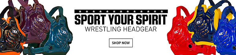 Team Colored Wrestling Headgear