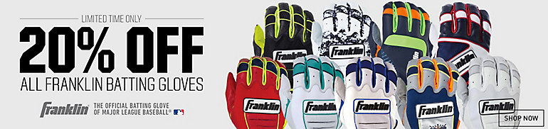 Shop 20% Off Franklin Batting Gloves