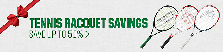 Shop Tennis Racquet Savings