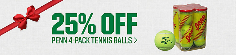 Shop 25% Off Penn Tennis Balls