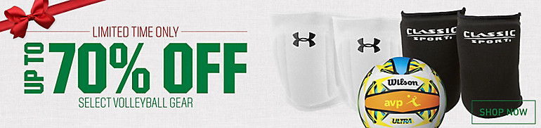 Shop Up To 70% Off Select Volleyball Gear