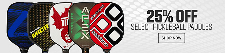 Shop 25% Off Pickleball Paddles