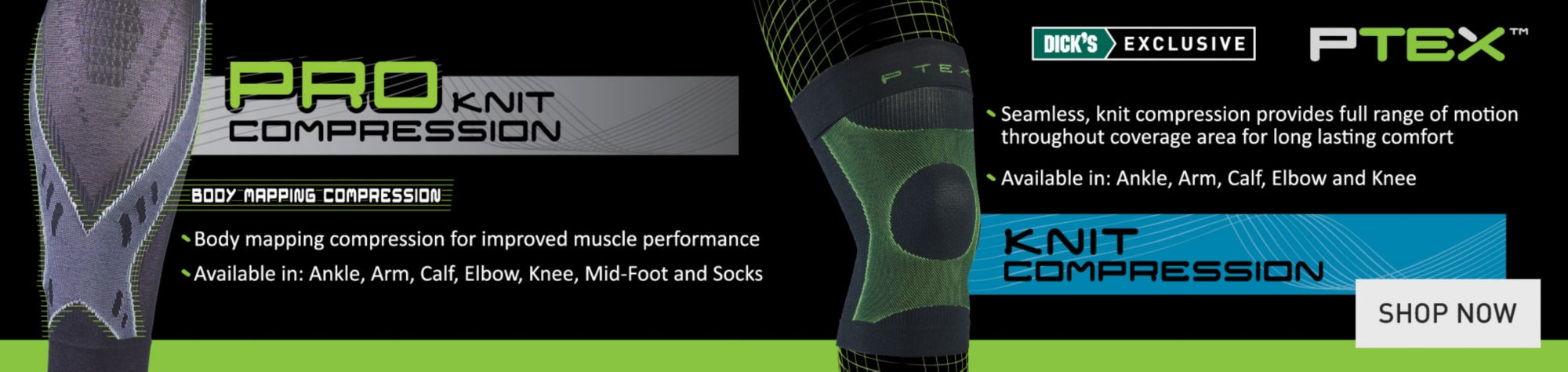 Shop PTEX Knit Compression