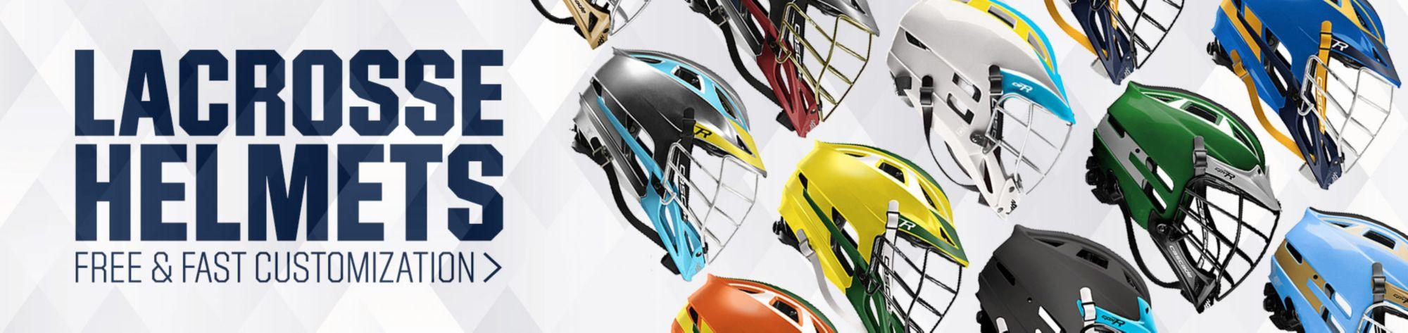 Shop Custom Lacrosse Helmets