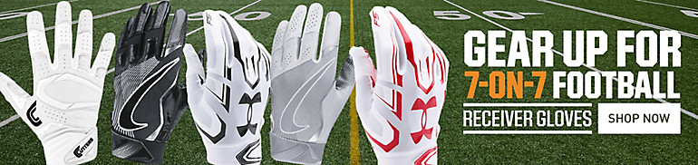 Shop Football Gloves For 7 on 7