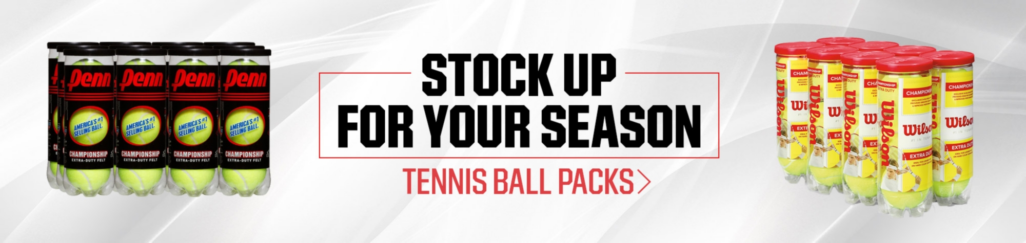 Shop Tennis Ball Packs