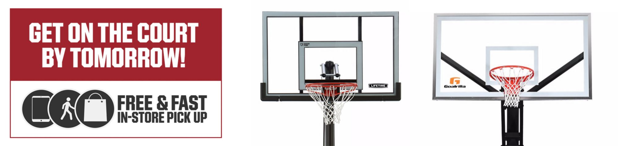 Basketball Hoops & Accessories Available In Store