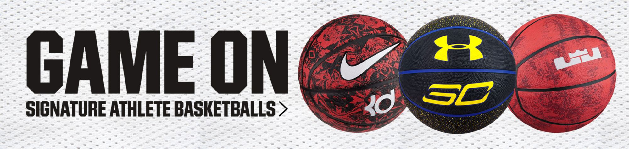 Game On - Signature Athlete BasketBalls