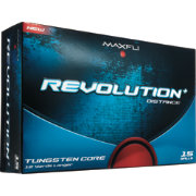 Maxfli Revolution+ Distance Golf Balls - 15-Pack