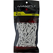 Maxfli 2.75'' White Tees – 100-Pack