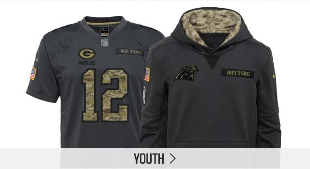 Shop Youth Salute to Service Apparel