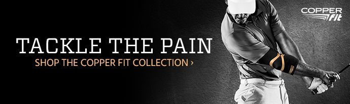 Tackle The Pain - Shop the Copper Fit Collection