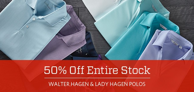 Shop Walter Hagen and Lady Hagen Polos