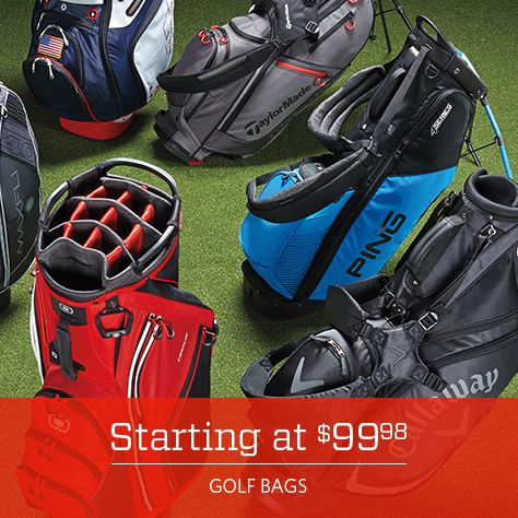 Golf Bags Starting at 99.98
