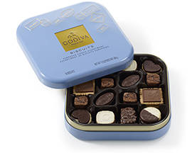Assortment of GODIVA biscuits