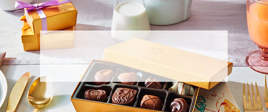 Shop GODIVA chocolate gift boxes and chocolate gift sets for your Aunt for Mother's Day