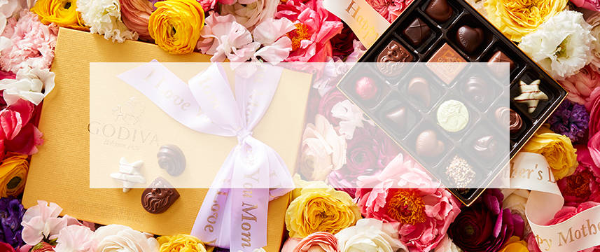 Shop GODIVA chocolate gifts for Mother's Day