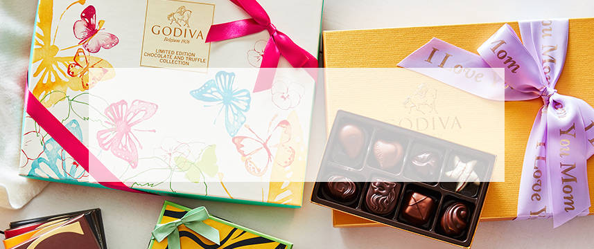 Shop GODIVA chocolate luxury gift boxes and chocolate gift sets for Mother's Day