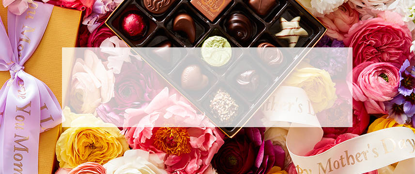 Shop GODIVA chocolate personalized gift boxes and chocolate gift sets for Mother's Day