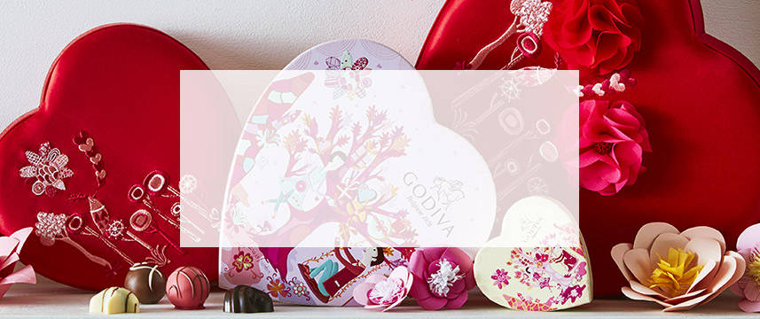 Shop Valentine's Day Chocolate Gift Boxes