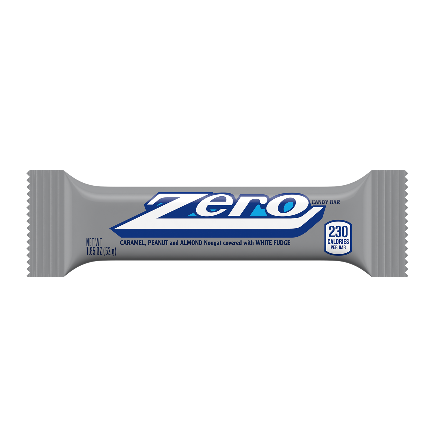 ZERO Candy Bar, 1.85 oz - Front of Package