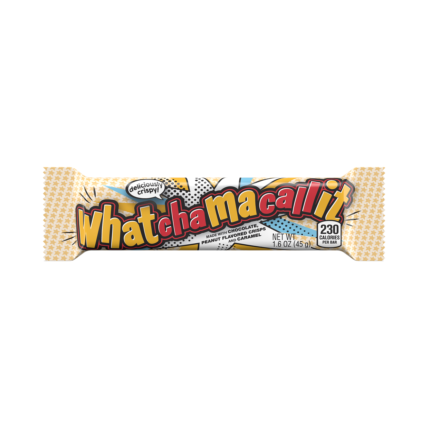WHATCHAMACALLIT Candy Bar, 1.6 oz - Front of Package