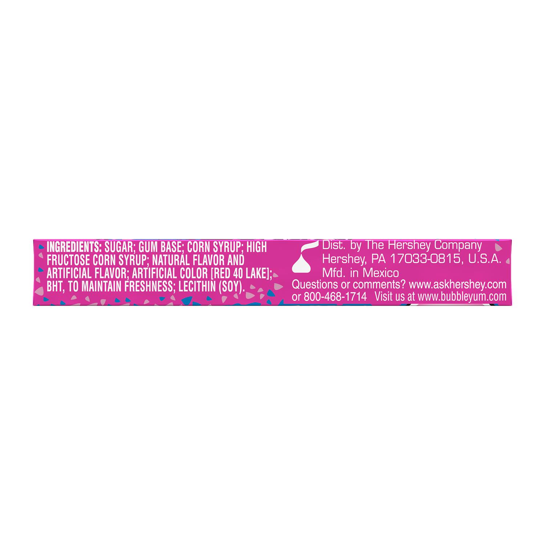 BUBBLE YUM Original Flavor Bubble Gum, 1.4 oz, 5 pieces - Bottom of Package