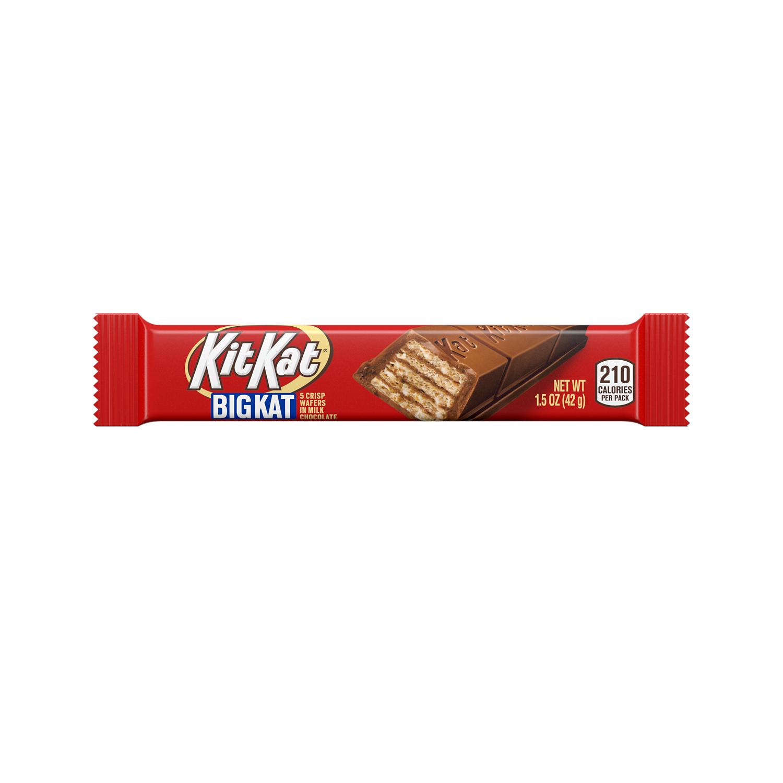 KIT KAT® BIG KAT Milk Chocolate Candy Bar, 1.5 oz - Front of Package