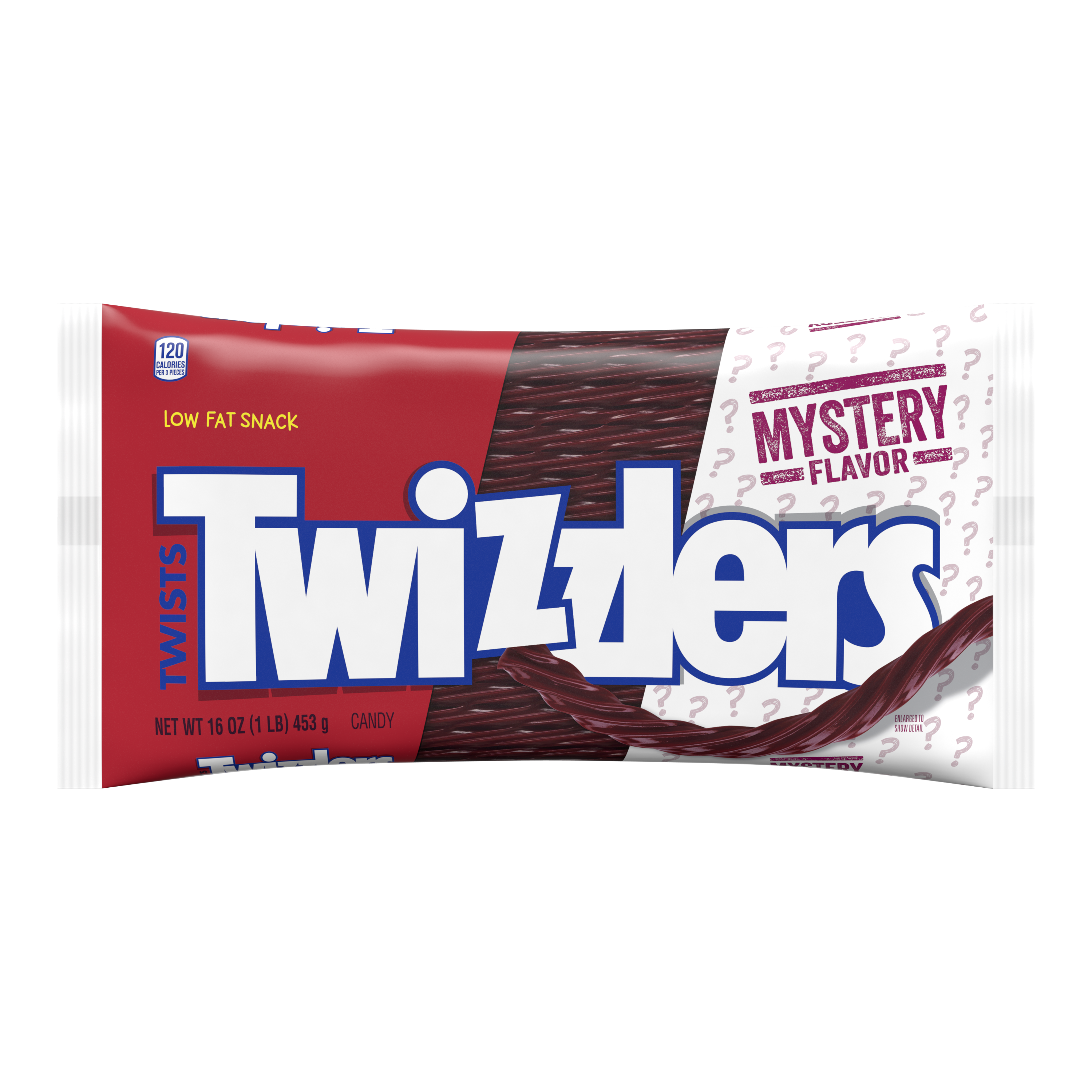 TWIZZLERS Twists Mystery Flavor Candy, 16 oz bag - Front of Package