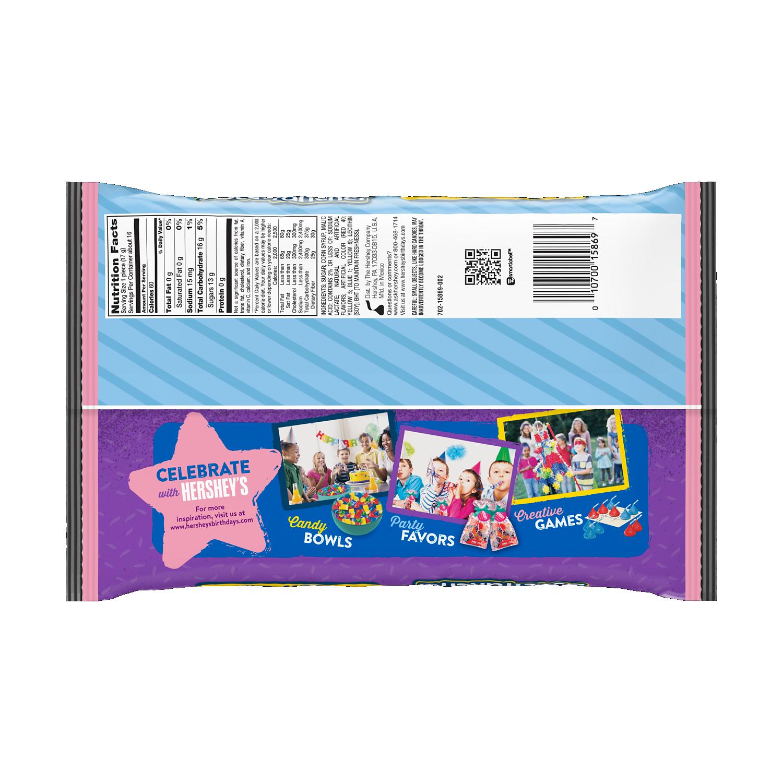 JOLLY RANCHER Original Flavors Lollipops, 9.64 oz bag - Back of Package