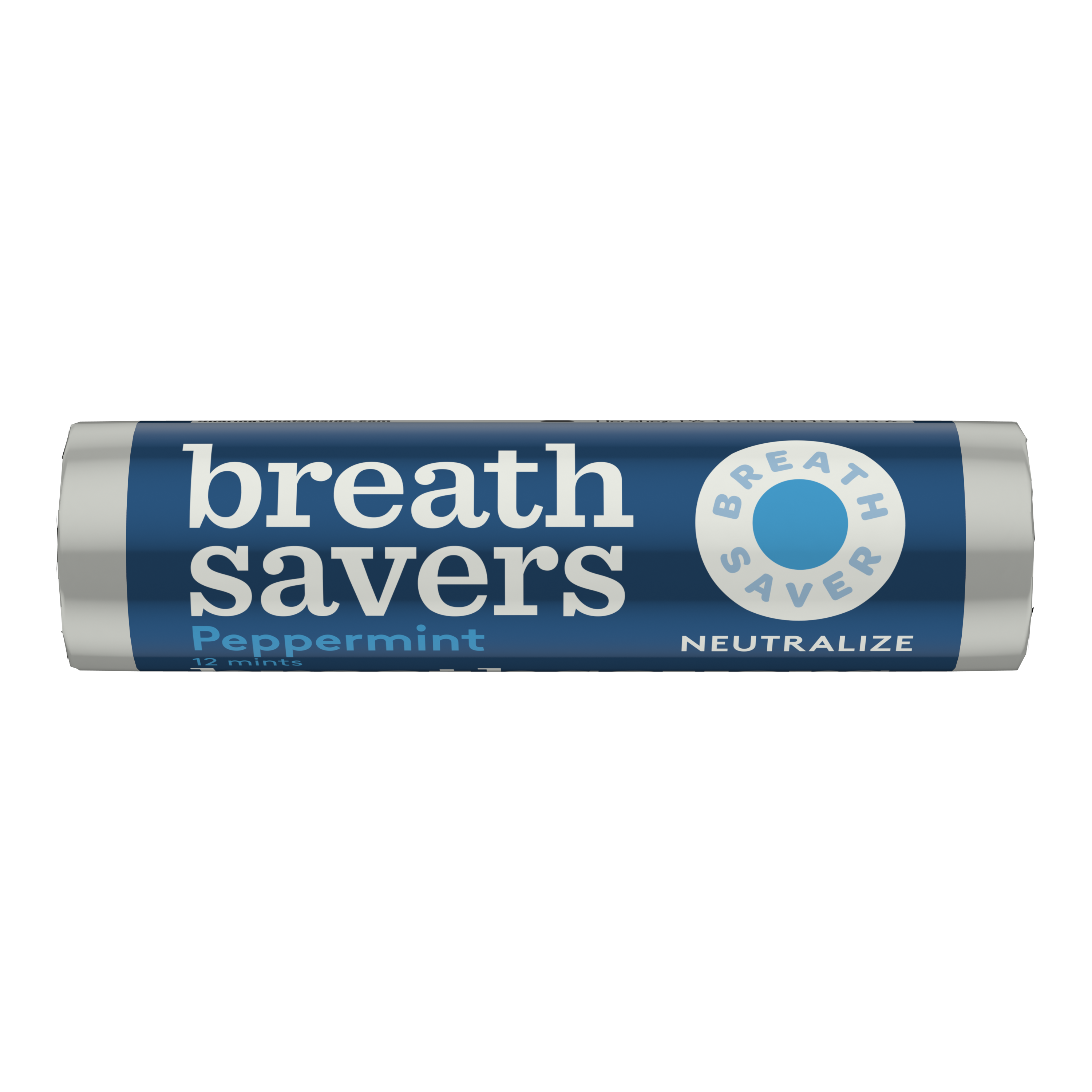 Breath Savers Peppermint Sugar Free Mint, 0.75 oz - Front of Package