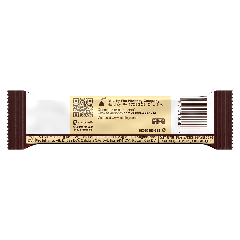 HEATH Milk Chocolate English Toffee Candy Bar, 1.4 oz - Back of Package