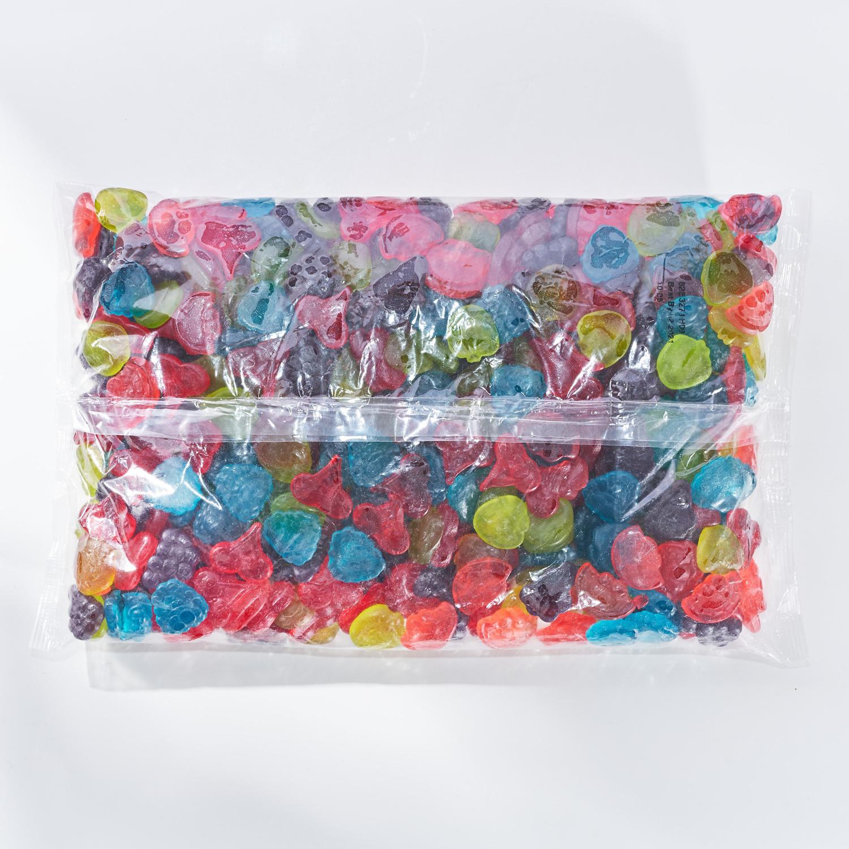 JOLLY RANCHER Gummies Original Flavors, 80 oz bag - Back of Package