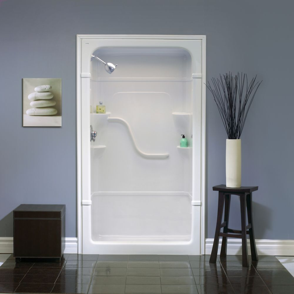 Mirolin Madison 48 Inch 1 Piece Acrylic Shower Stall The Bekato Canada