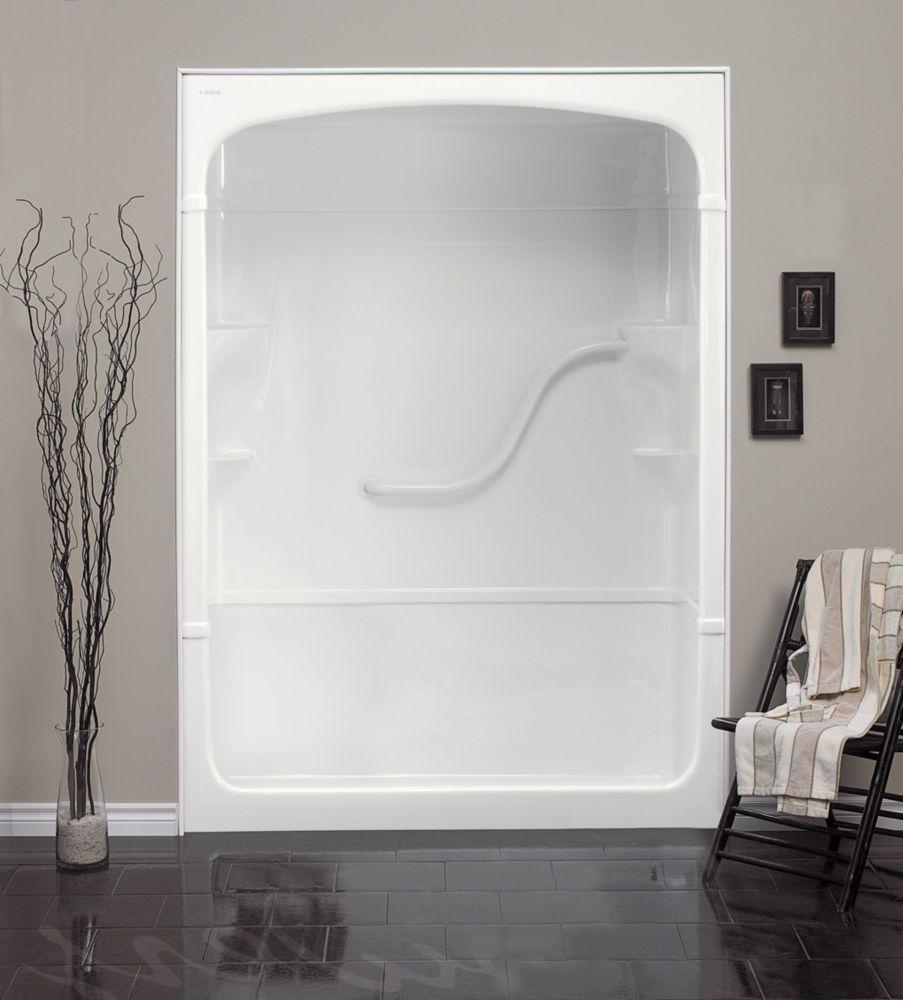 Mirolin Madison 60 Inch 3 Piece Acrylic Shower Stall The Bekato Canada