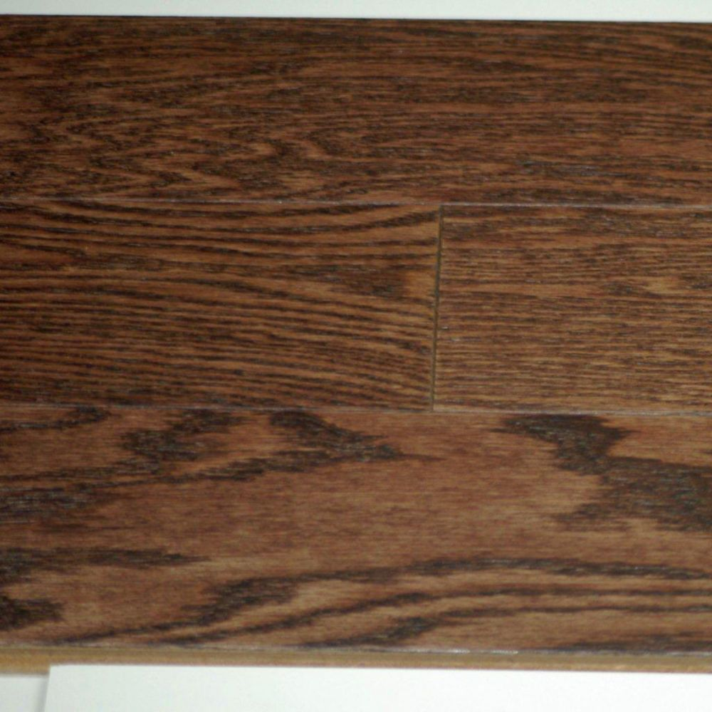 Goodfellow Hardwood Flooring Red Oak Wire Brushed Musket Colour Sq Ft Case
