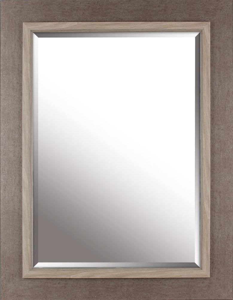 27 25 X 35 Frame With Liner Beveled Mirror