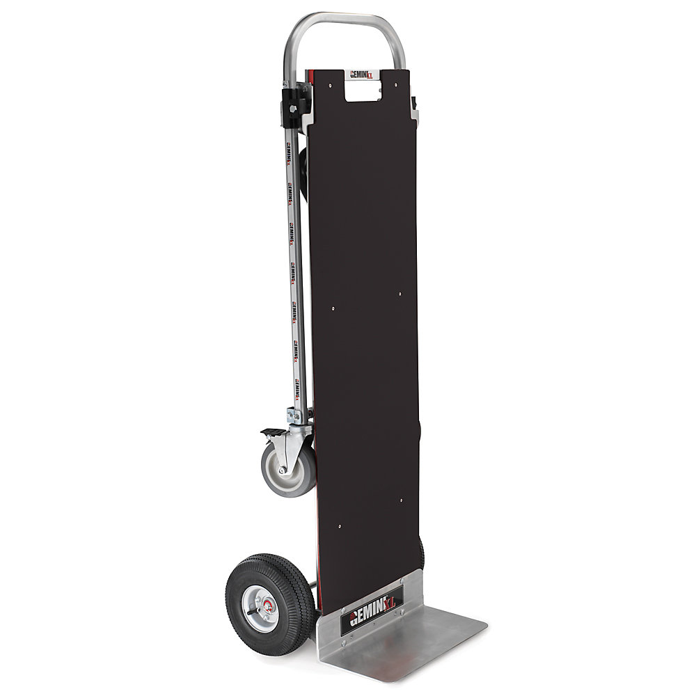 Magliner Gemini Xl Convertible Hand Truck - Pneumatic Wheels