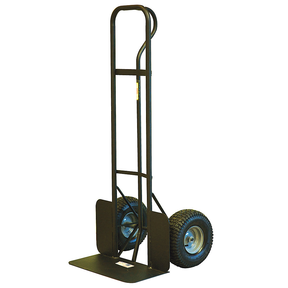 Milwaukee High-Capacity P-Handle Hand Truck With Pneumatic Tires - 1000-Lb. Capacity