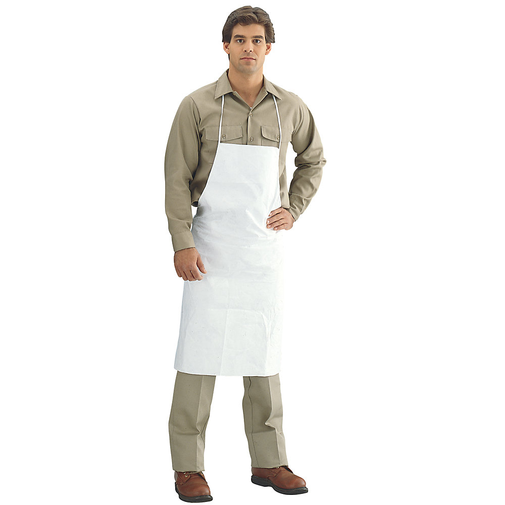Tyvek Apron - White - Lot of 10