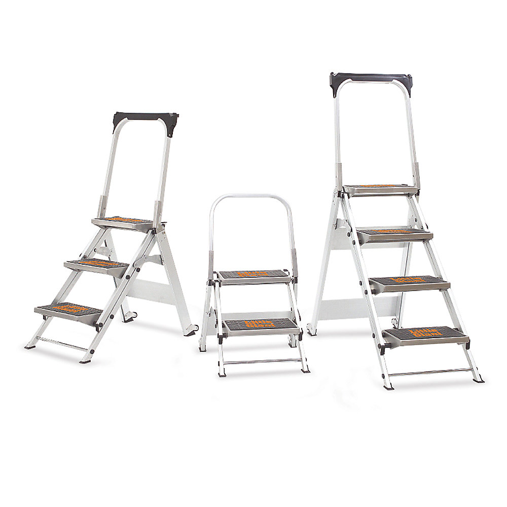 "Little Giant Safety Step Step Ladder - Four Steps - 22-1/2 X45x54-1/2"" Home Coupons"