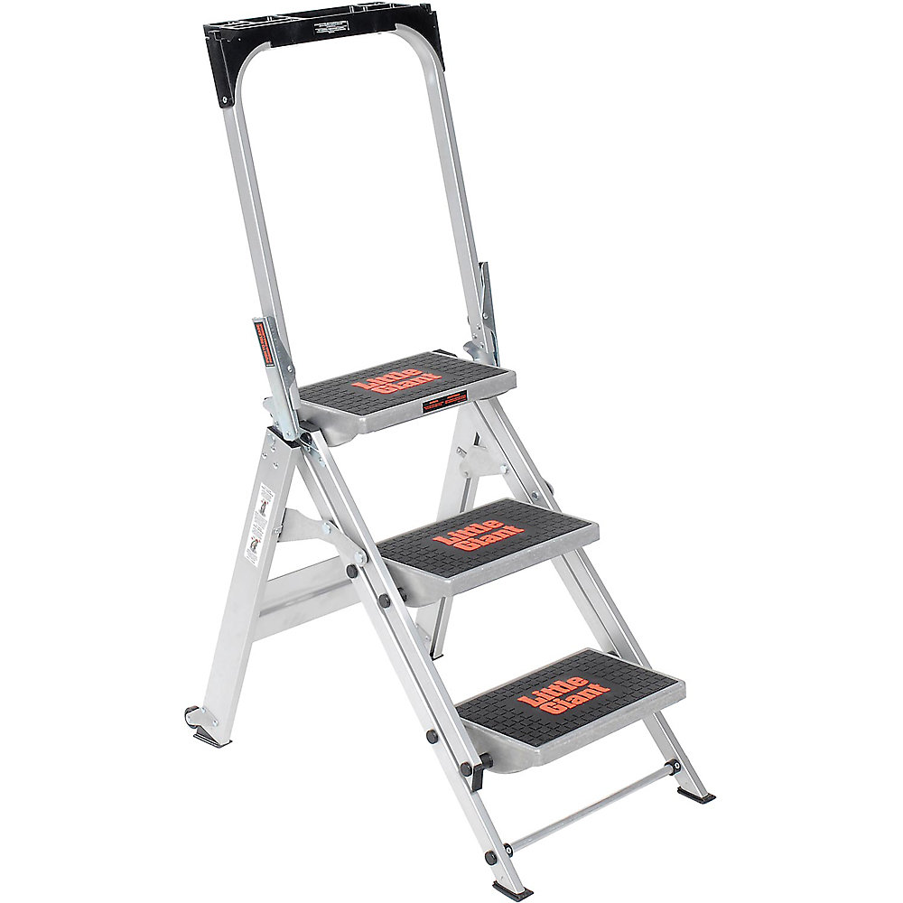 Little Giant Safety Step Step Ladder - Three Steps - 22X34-1/2 X43""
