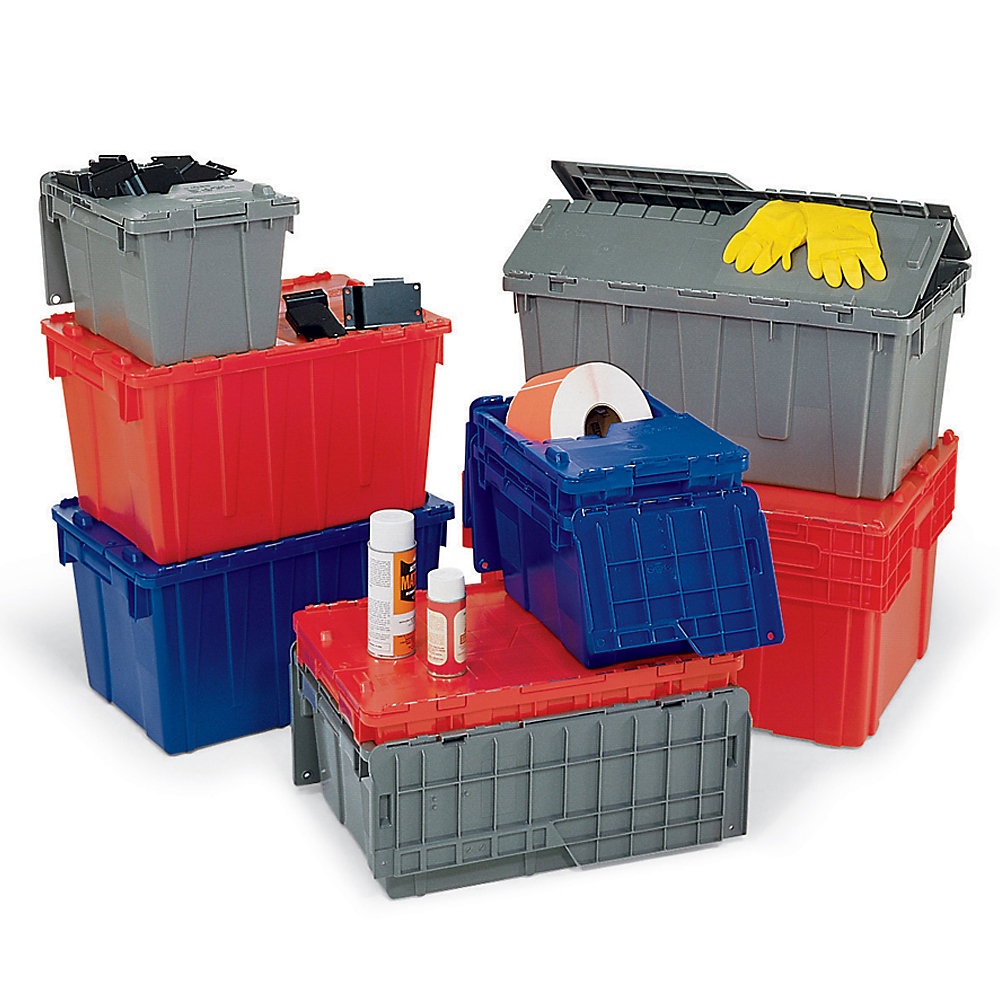 Storage Containers Cheap Orbis Solid Color Flipak Tote