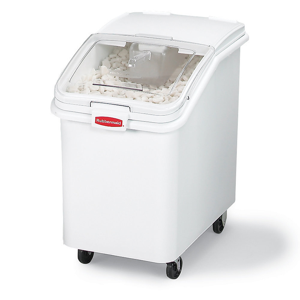 RUBBERMAID® RUBBERMAID ProSave Mobile Bulk Storage Bins with Scoops - 15-1/2'Wx29-1/2'Dx28'H